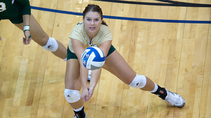VOLLEYBALL FALLS AT UC DAVIS