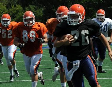 Eagles wrap up fall camp, begin preparation for Wayne State