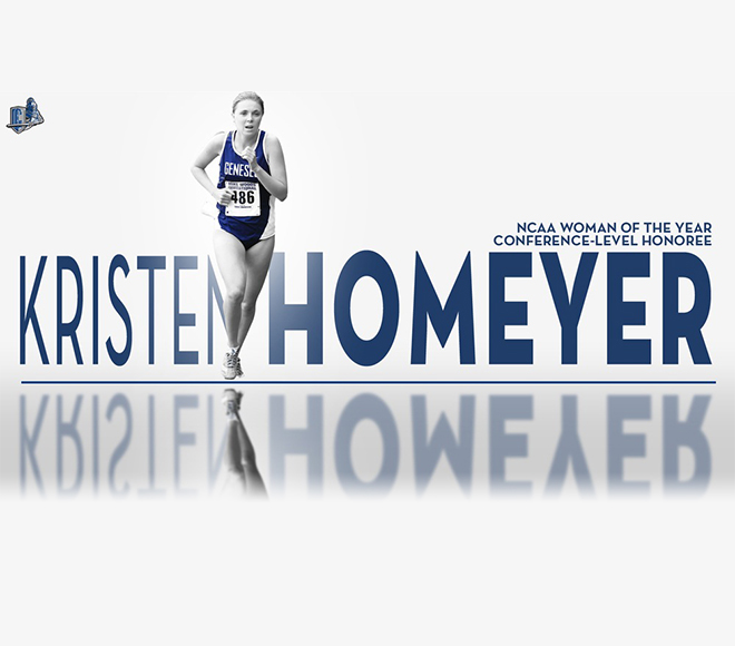 Homeyer named NCAA Woman of the Year Conference-Level Honoree