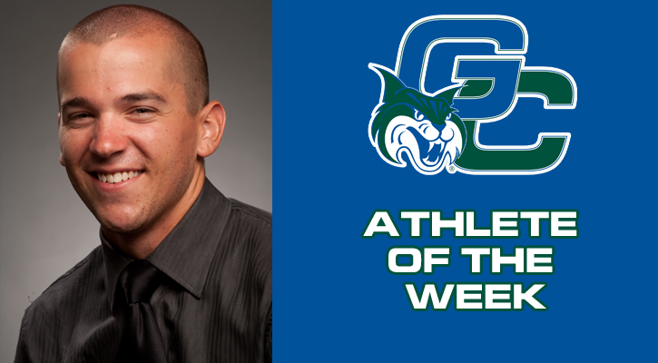 Mattix Grabs GC Athlete of the Week Honors for Second Time