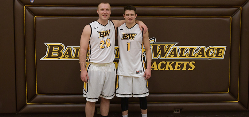 Seniors Ben Chase and Zack Brandy