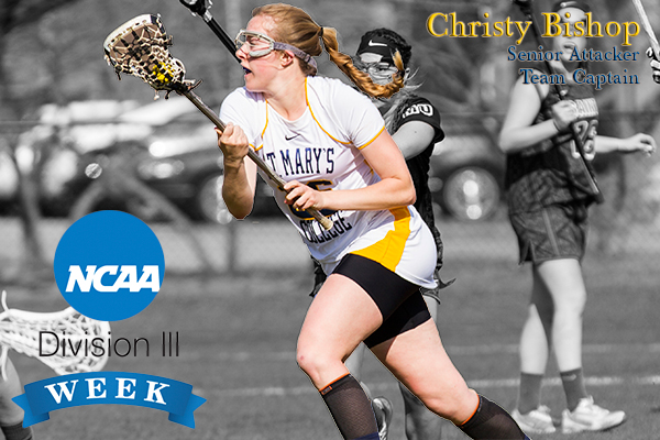 Last Division III Week Profile for Friday: Christy Bishop