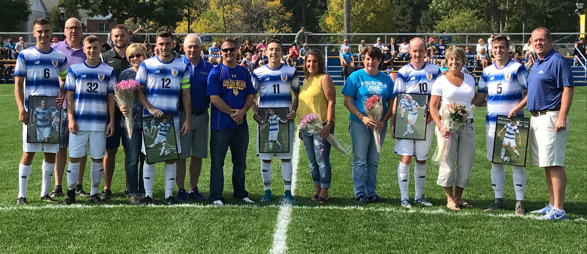 Remillard and Pingree Lead Golden Bears to 4-1 Victory over Nichols on Senior Day
