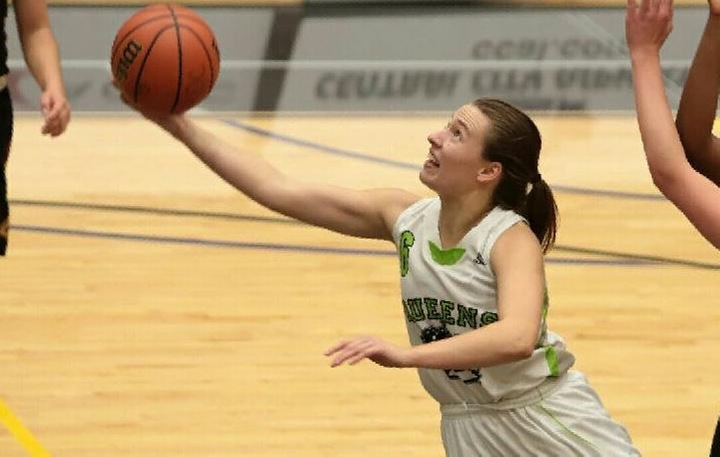 Amy Szymanek had another great game, recording 22 points against St. Mary's