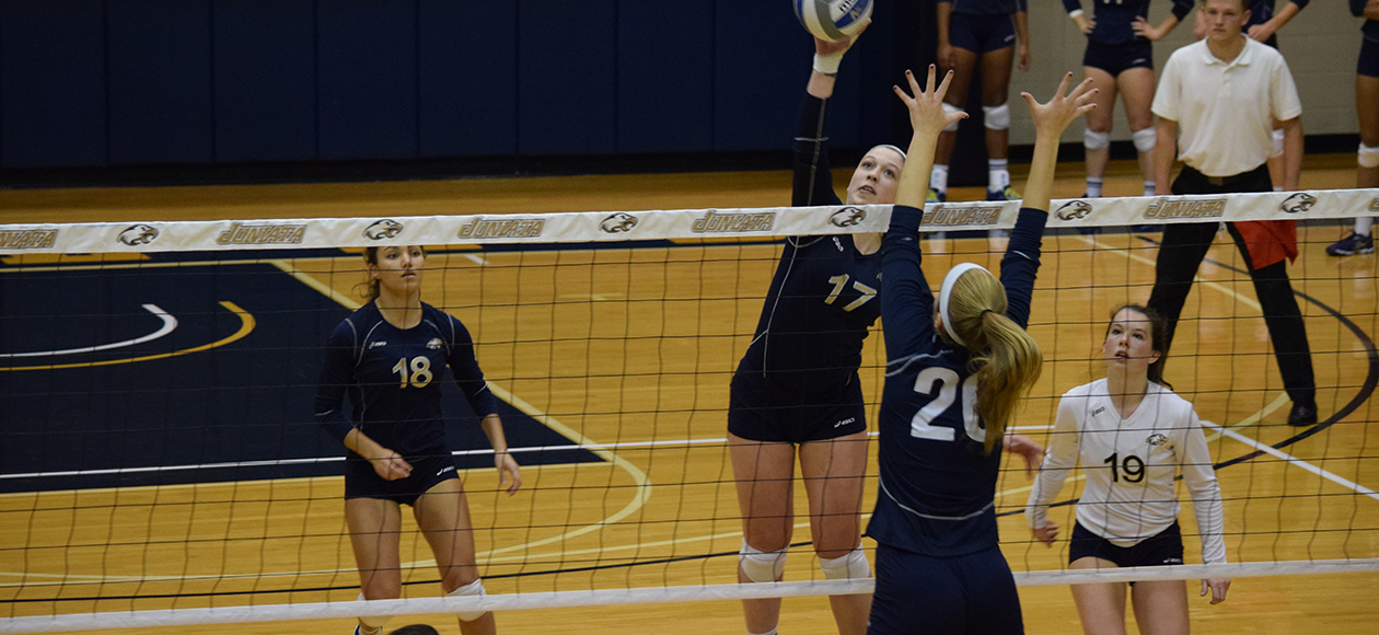 Megan Moroney hit .321 and tallied 13 kills against Emory.
