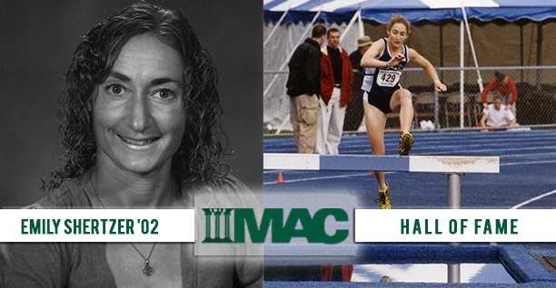 Emily Shertzer '02 Selected to MAC Hall of Fame.