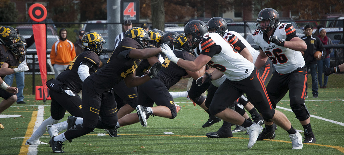 Football Game At Findlay Selected For Division II Showcase
