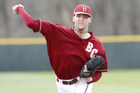 Chandler Pitches Eagles To 2-1 Victory Over Guilford In ODAC Tourney Opener