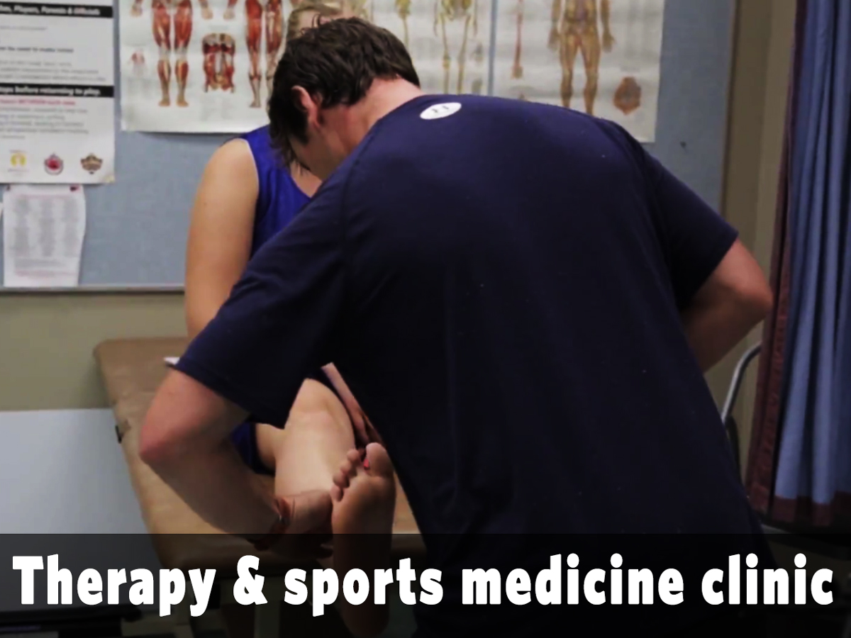 Therapy and sports medicine clinic