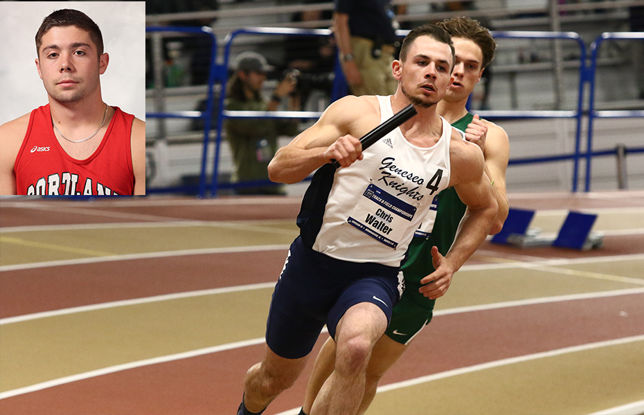 Lalone and Walter earn track and field weekly honors
