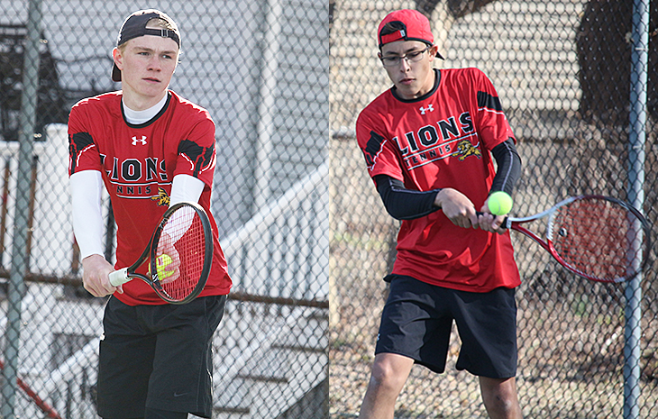 Siercke, Rodriguez Sweep GNAC Men's Tennis Weekly Awards