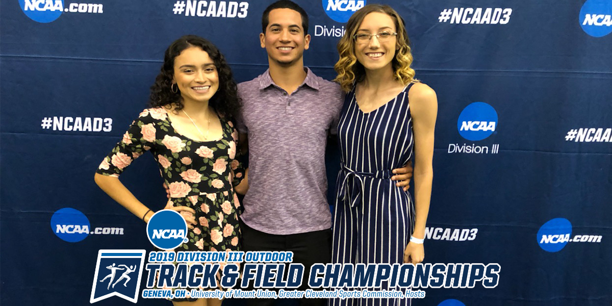 Track & Field Trio Prepped for National Championships