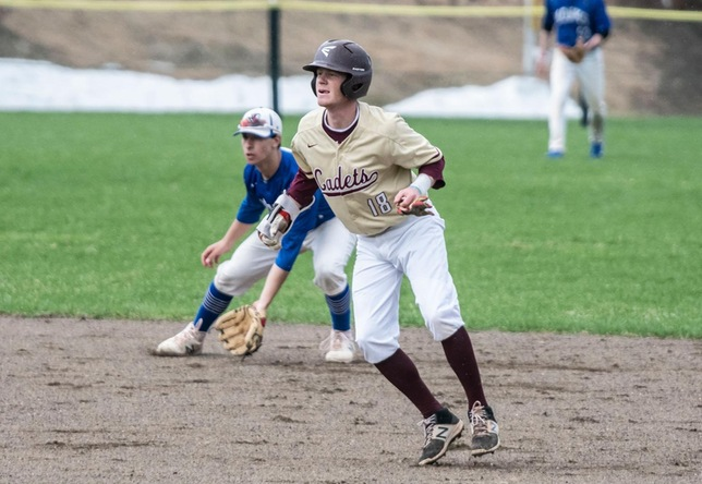 Baseball: Cadets Split Twinbill at Chargers