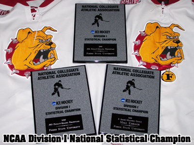 Ferris State Hockey Receives National Statistical Recognition