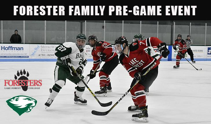 Men's Hockey Forester Family Pre-Game Event