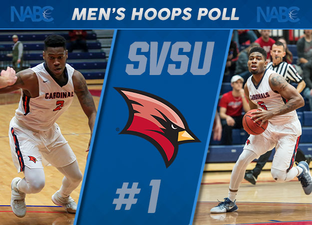 Saginaw Valley Earns First-Ever No. 1 Men's Basketball Ranking