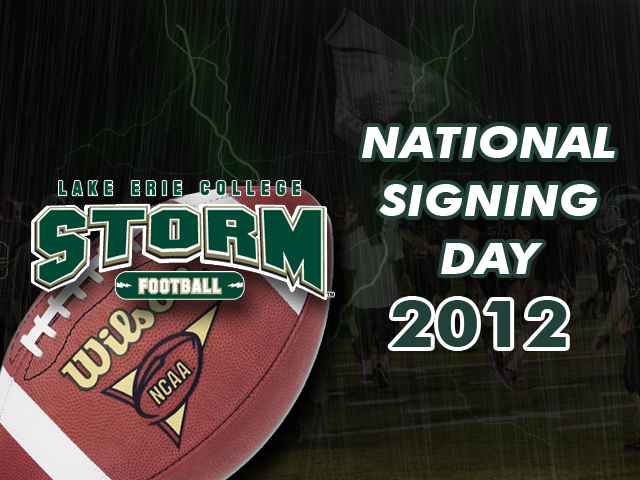 Football Announces 2012 National Signing Day Class (With Video Interview)
