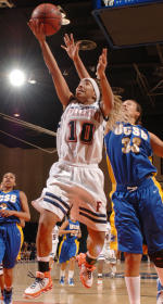 Fullerton's Rally Falls Short as UC Santa Barbara Ekes Out, 79-78, Victory