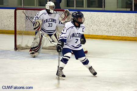 Women's Hockey News and Notes; Falcons host Lake Forest Tuesday at 7 p.m.
