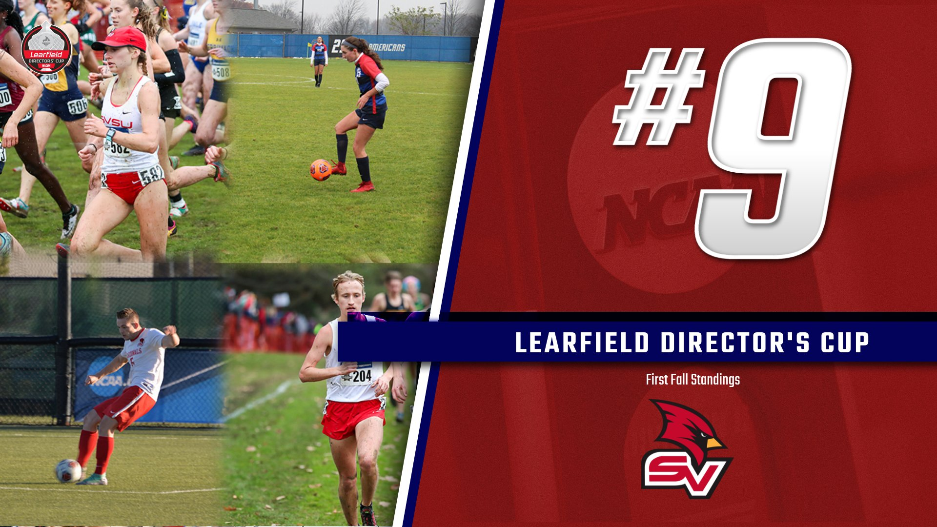 Cardinals ranked 9th in first Fall Learfield Director's Cup Rankings