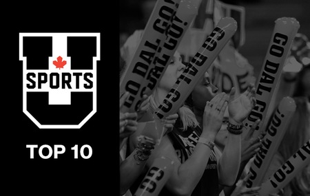 U SPORTS TOP 1O TUESDAY (Jan. 16)