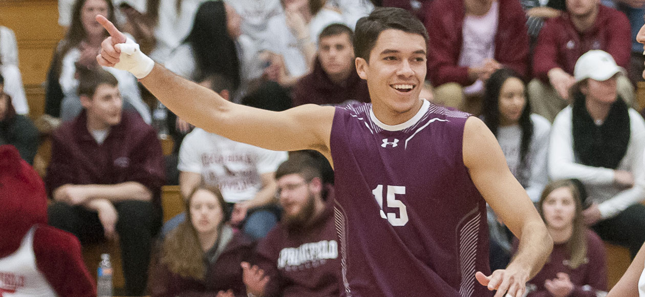 No. 1 Men's Volleyball Knocks Off No. 3 New Paltz in NCAA Championship Rematch