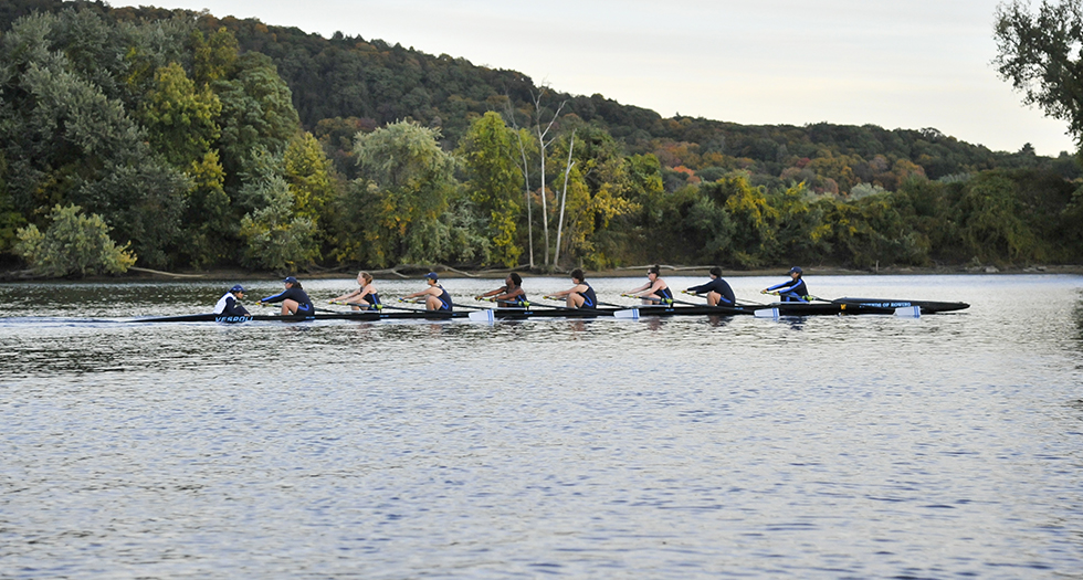 Rowing Finishes Fourth at 31st Annual Seven Sisters Championship