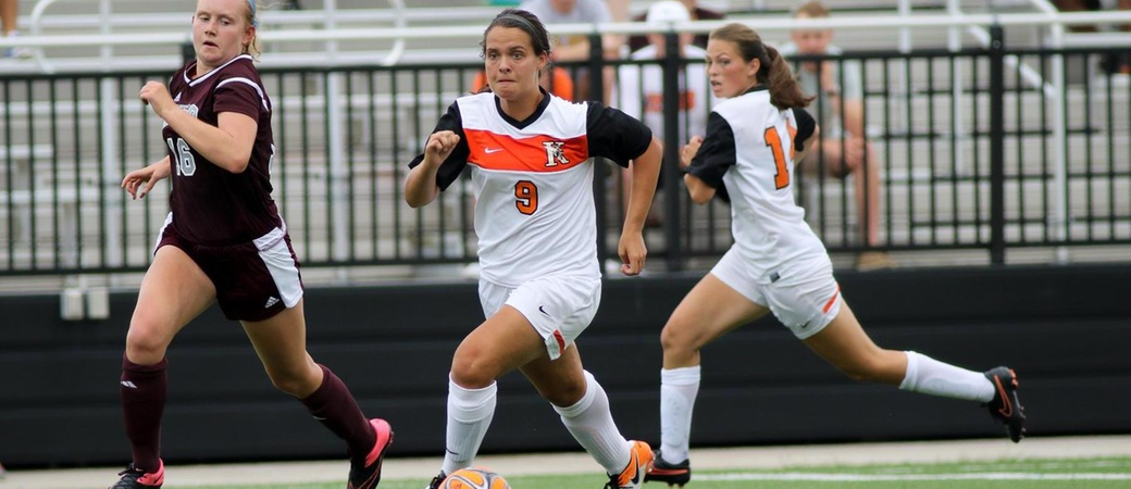 Women's Soccer drops Trine in overtime