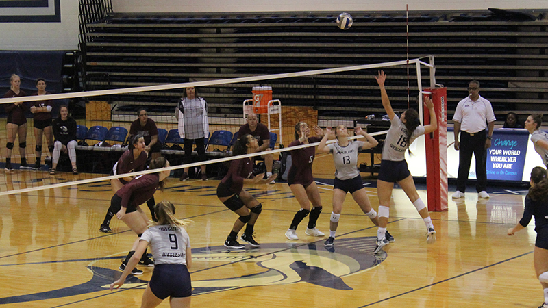 Volleyball Picks Up Victory in ODAC Opener