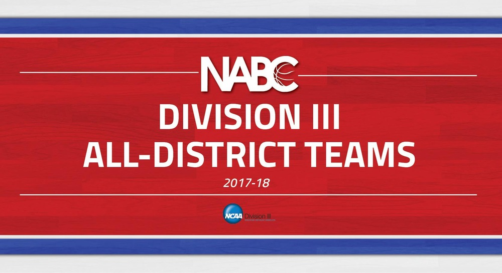 NABC Division III All-District Teams and Coaches