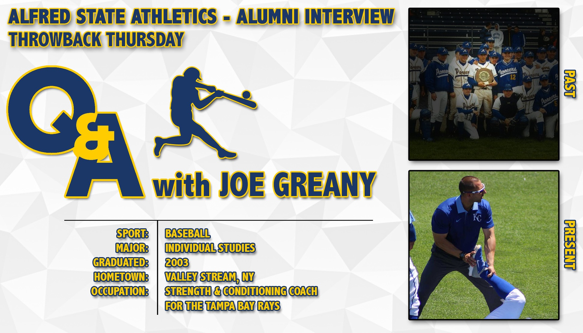 Q&A with Joe Greany