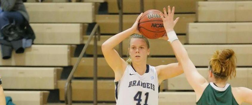 Brandeis Women's Basketball Falls to Ninth-Ranked Tufts, 67-43