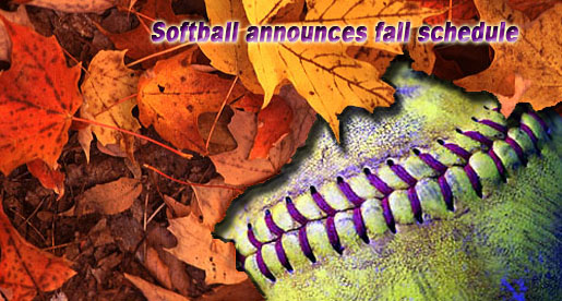 Golden Eagle softball team's 2013 fall slate unwrapped