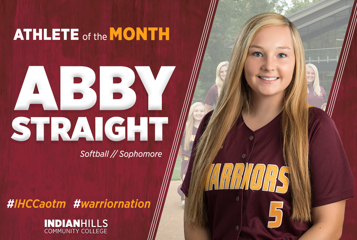 Abby Straight - Athlete of the Month