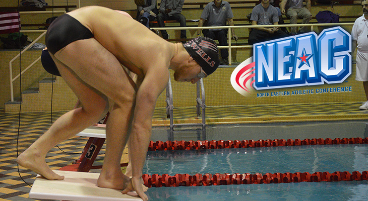 Defending NEAC Men's Swimming Champs Set To Begin Conference Meet