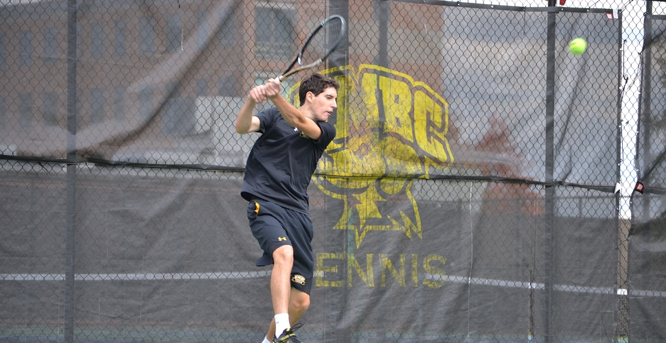 Men's Tennis Blanks Morgan State, 6-0