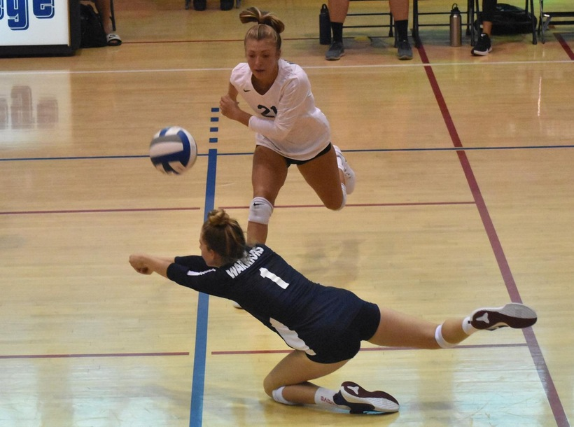 Women's Volleyball Drops Home Opener to Moorpark