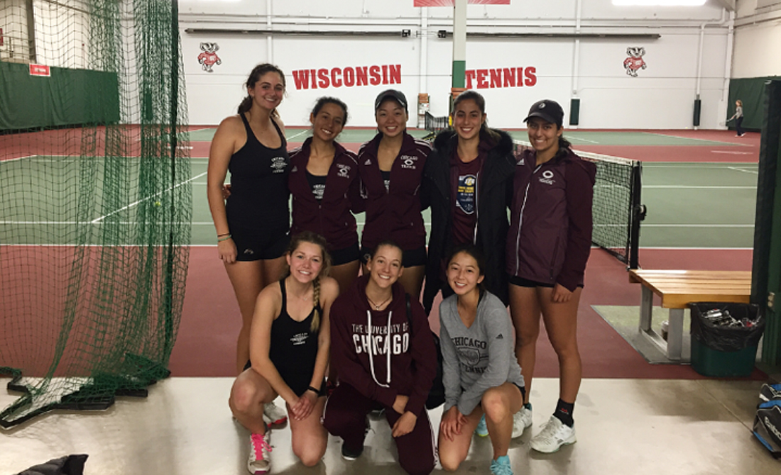 Maroon women's tennis edges Washington-St. Louis 5-4 in Midwest Invite championship thriller