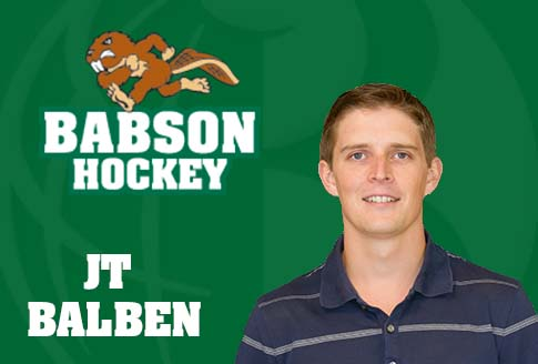 Balben Named Assistant Men 39 S Ice Hockey Coach Babson