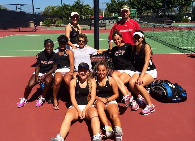 Women's Tennis Topples Portland 6-1; Hosts Senior Day at 12pm Sunday