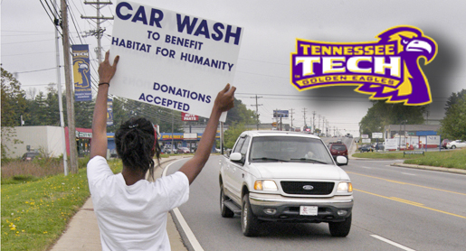 Thank You: SAAC Car Wash raises $450 for Habitat for Humanity