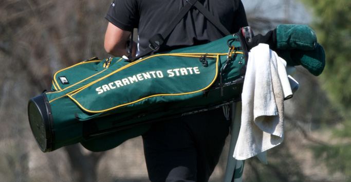 MEN'S GOLF SIGNS PAIR OF STATE JC CHAMPIONS