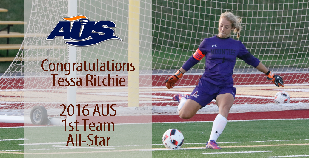 Mounties Tessa Ritchie named AUS 1st team All-Star