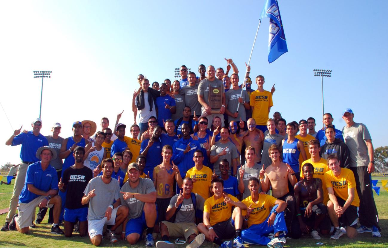 Gaucho Men Win Big West Championship and Several Individual Titles