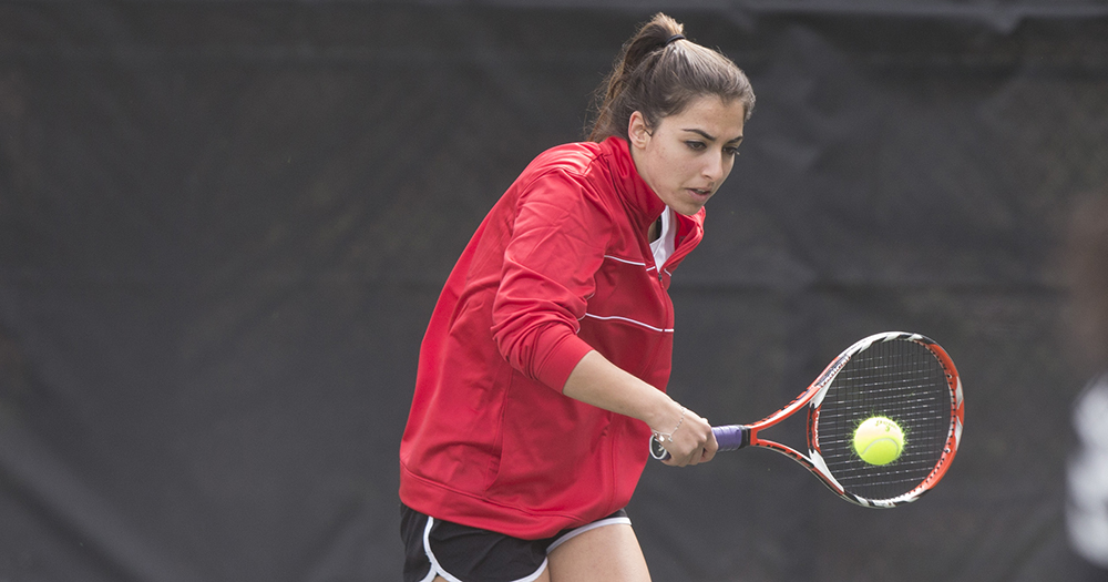 Catholic Women's Tennis Downs Trinity (D.C.)