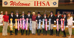 bridgewater's team photo at IHSA nationals