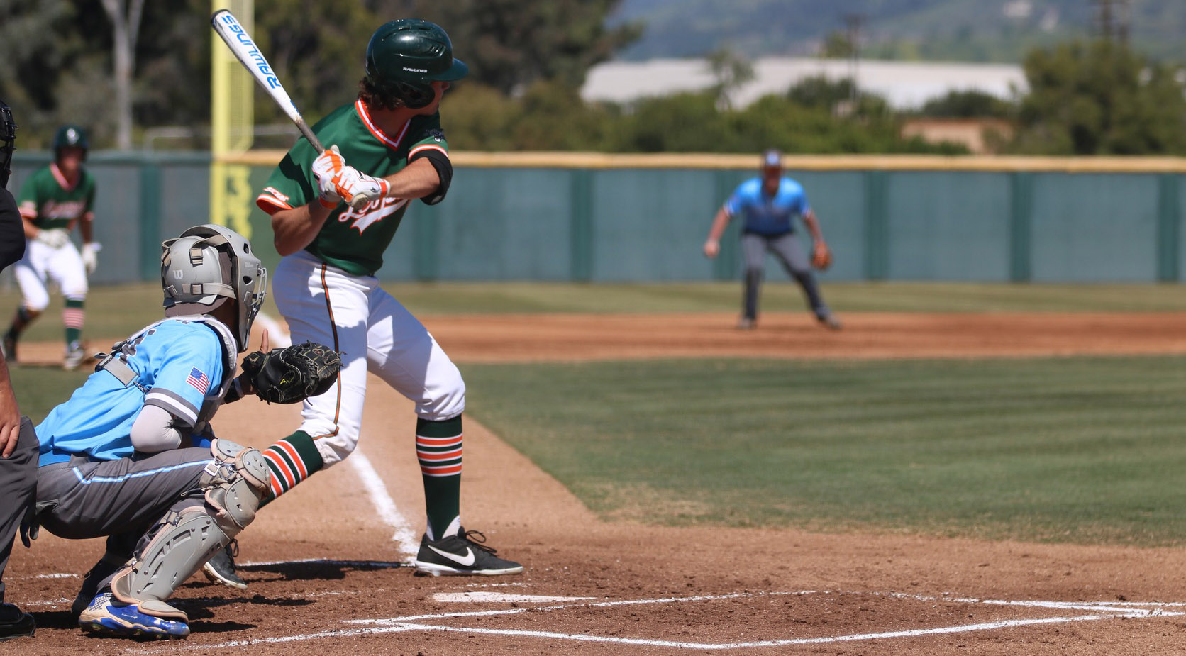 Baseball beats Pioneers twice