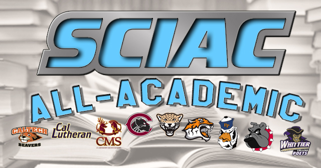 Spring athletes recognized on SCIAC All-Academic teams