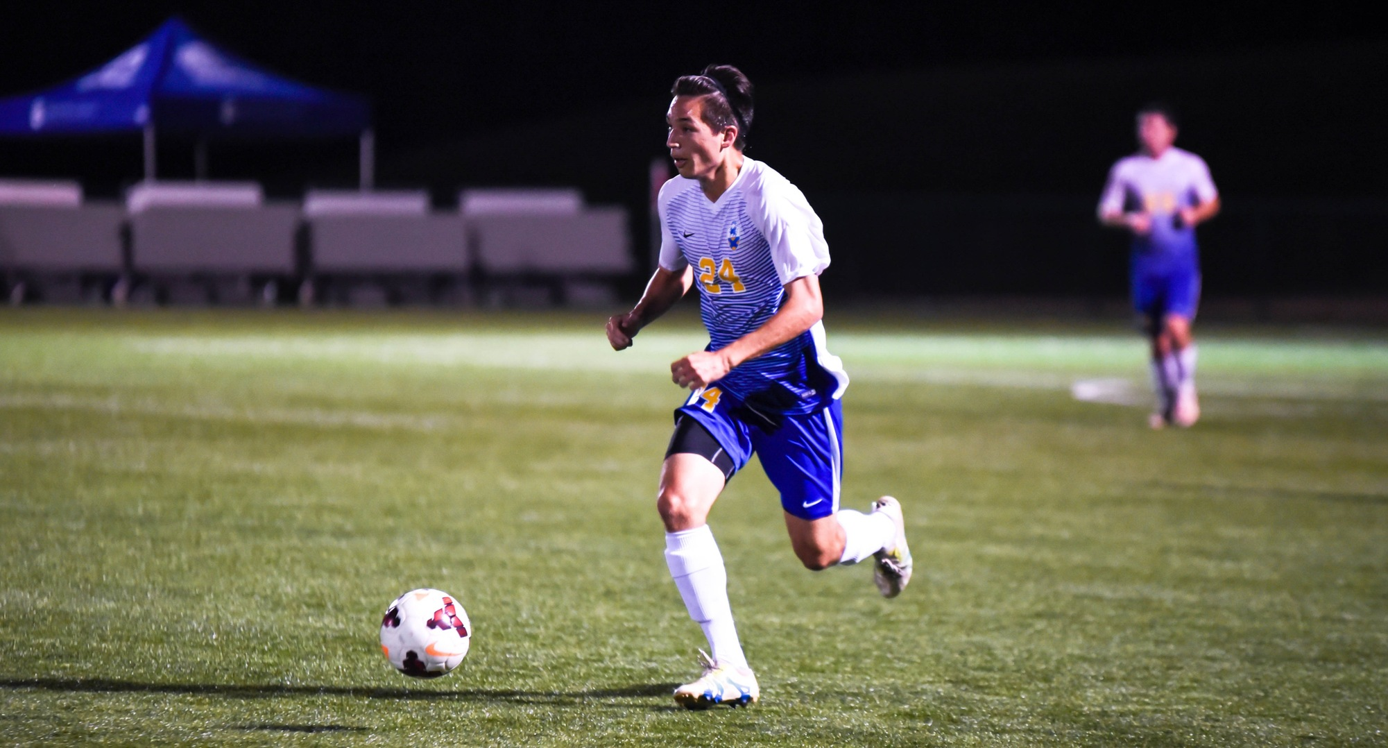 Baskaron, Lowes Lift Men's Soccer to Victory at John Wesley