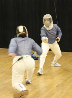 Wellesley Fencing Defeats UMass, UNH at Northeast Conference Meet